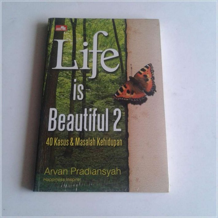 Buku Motivasi Terbaik Life is Beautiful 2 - Buku Arvan Pradiansyah Motivator Terbaik Indonesia