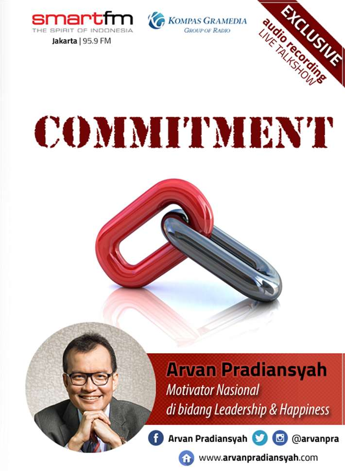 CD Audiobook Commitment oleh Arvan Pradiansyah – Motivator Indonesia Pilihan