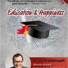 CD Audiobook Education dan Happiness oleh Arvan Pradiansyah - Motivator Bisnis dan Kesuksesan Indonesia