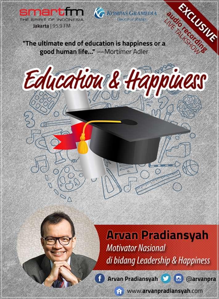 CD Audiobook Education dan Happiness oleh Arvan Pradiansyah – Motivator Bisnis dan Kesuksesan Indonesia