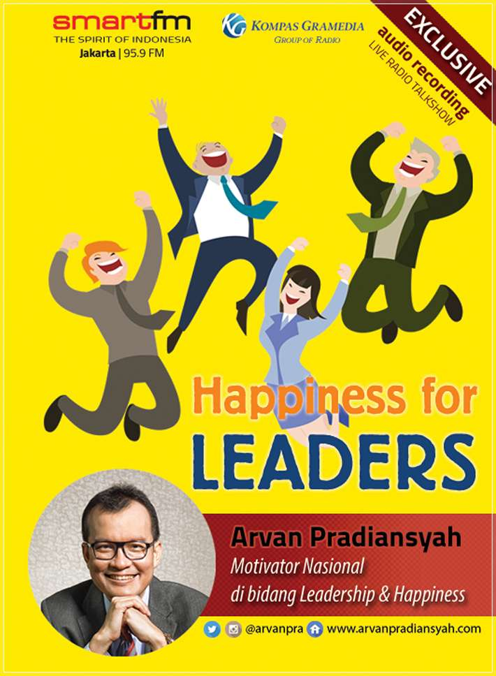 CD Audiobook Happiness for Leaders oleh Arvan Pradiansyah – Motivator Leadership Indonesia