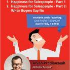 CD Audiobook Happiness for Salespeople oleh Arvan Pradiansyah - Motivator Bisnis Indonesia