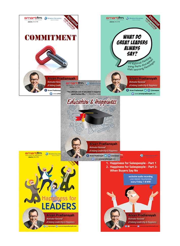 Paket CD Audiobook Arvan Pradiansyah – Motivator Leadership Indonesia