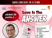 Meet and Greet Buku Motivator Indonesia Love Is The Answer Arvan Pradiansyah